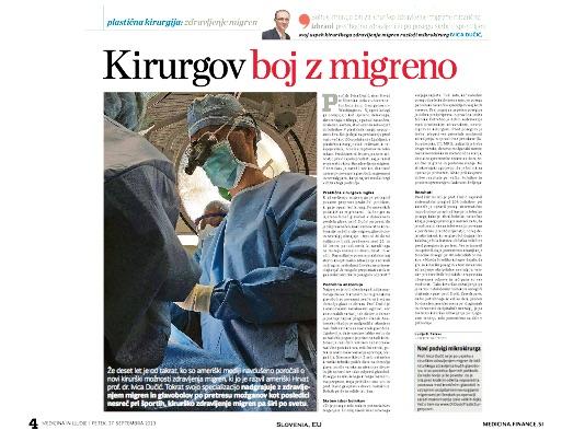 SLO - Medicina In Ljudje 2013