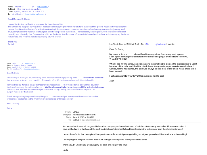 Client Testimonial drducicplasticsurgery