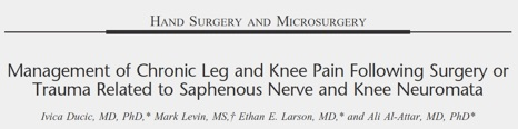 Management of CHronic Leg and Knee Pain