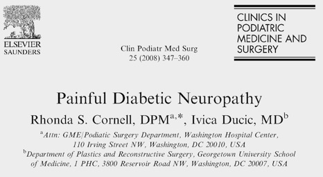 Painful Diabetic Neuropathy