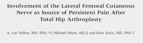 Involvement of the Lateral Femoral