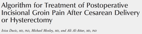 Treatment of Postoperative Incisional Groin Pain